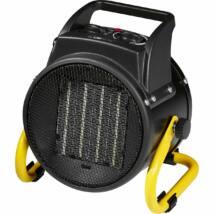 Clatronic HL3651 kerámiás hősugárzó, fekete, 2 hőbeállítás (1000/2000W)