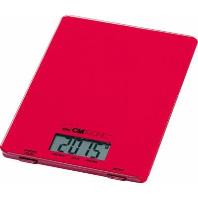 Clatronic KW3626 digitális konyhai mérleg - PIROS, 5kg-ig