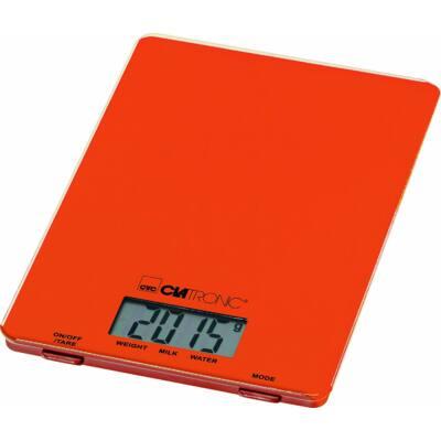 Clatronic KW3626 digitális konyhai mérleg - NARANCS, 5kg-ig