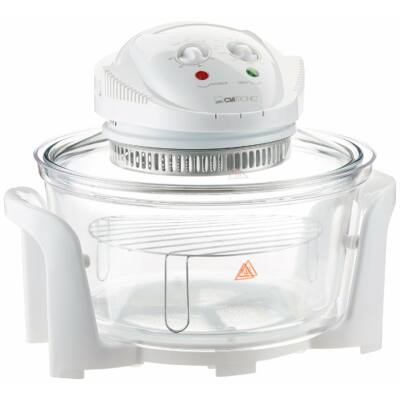 Clatronic HLO3523  halogén légkeveréses sütő, 12 liter, 33 cm tál, 1200-1400W